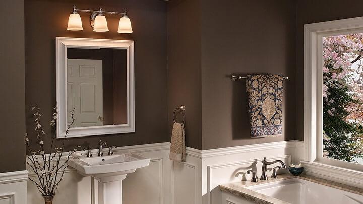painting bathroom walls