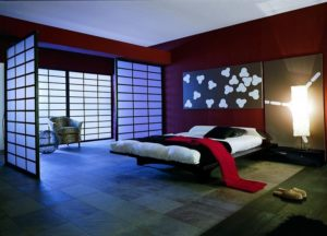 interior of the bedroom