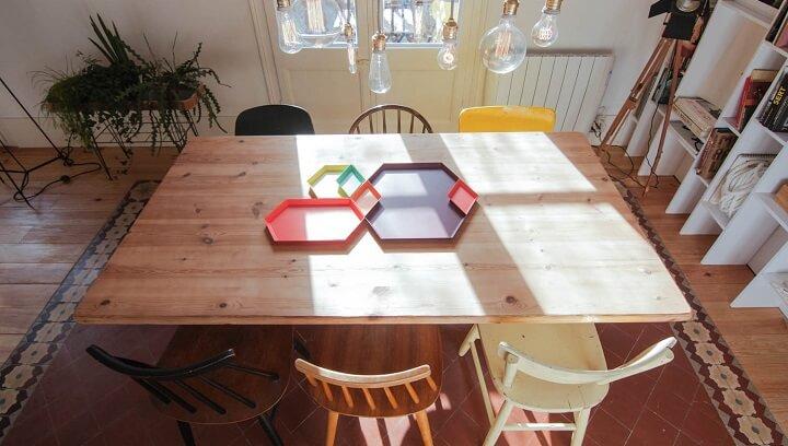 dining room look bigger