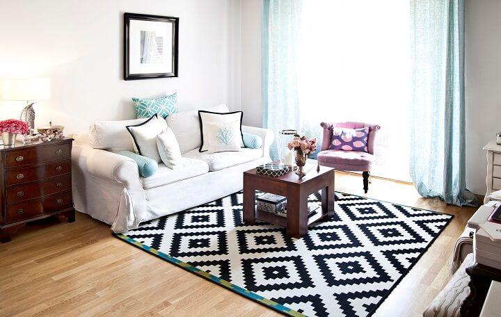 small living room look bigger
