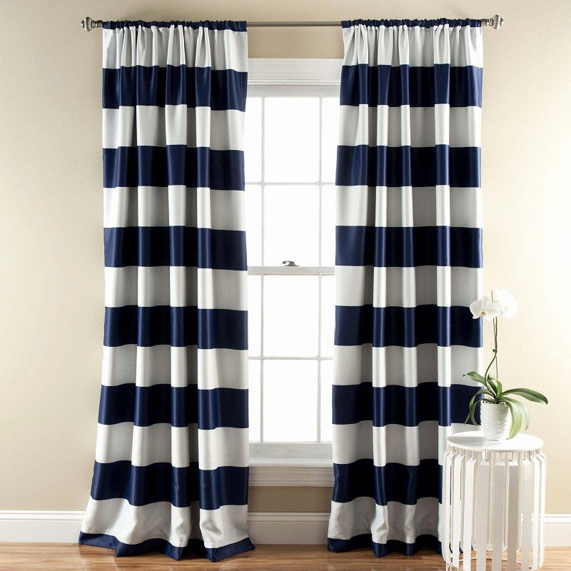 Hang new curtains