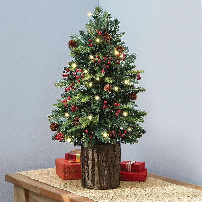 Christmas mini-trees