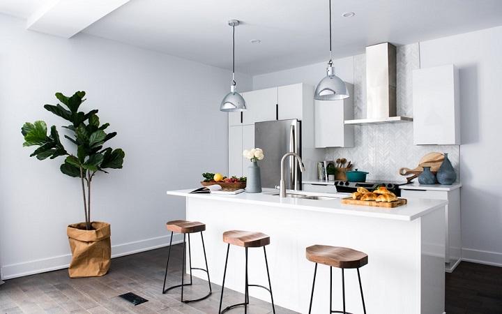light the kitchen